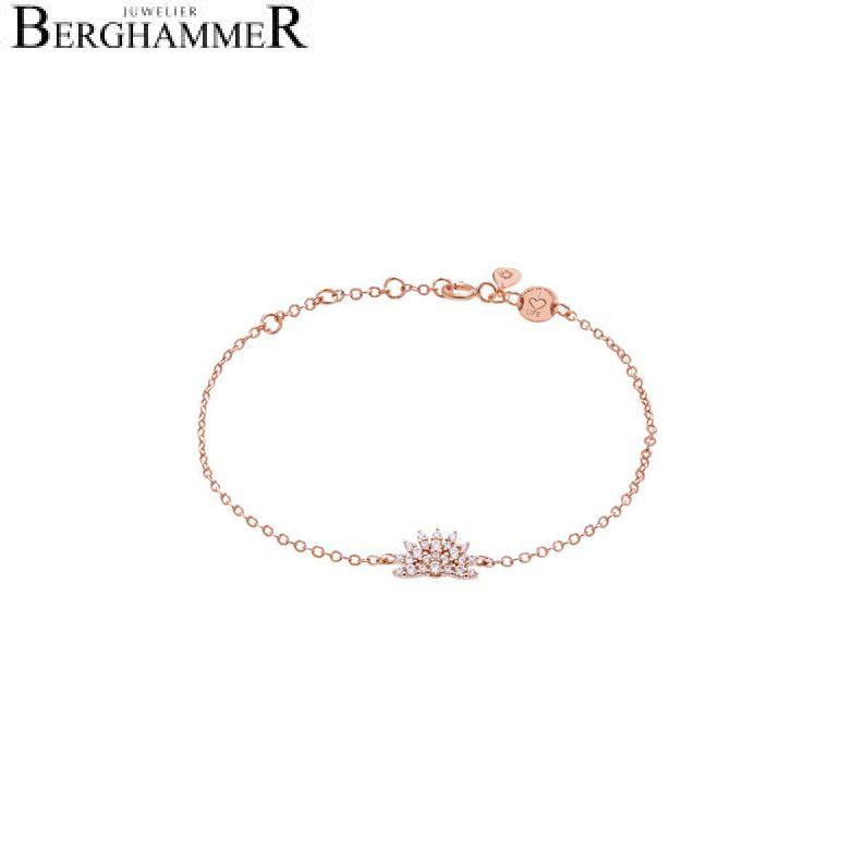 LaViida Armband Magic 925 Silber roségold vergoldet BLU624RG