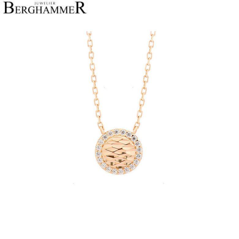 LaViida Halskette Shine 925 Silber roségold vergoldet NLU623RG