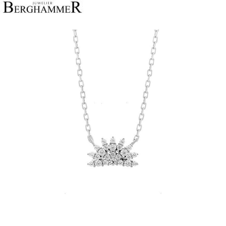 LaViida Halskette Magic 925 Silber rhodiniert NLU624RH 40500035
