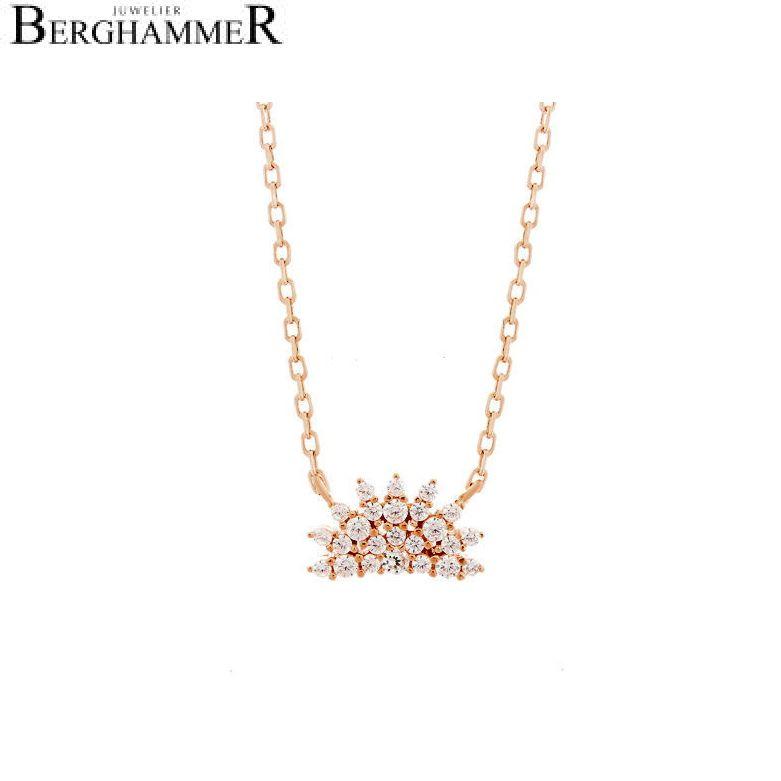 LaViida Halskette Magic 925 Silber roségold vergoldet NLU624RG