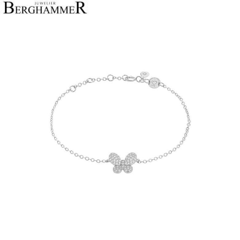 LaViida Armband Schmetterling 925 Silber rhodiniert BLU625RH 40500043