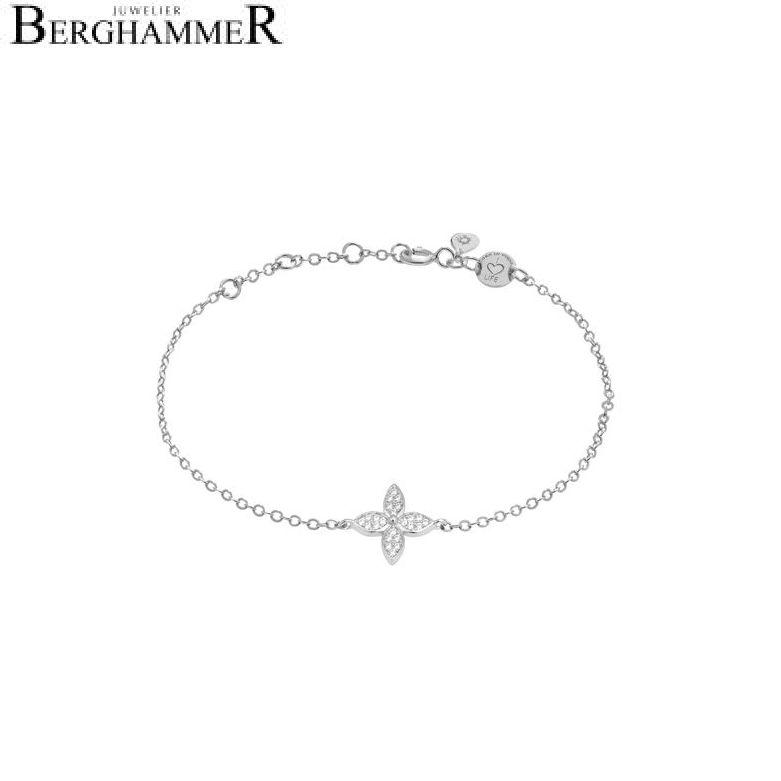 LaViida Armband Blume 925 Silber rhodiniert BLU626RH 40500045