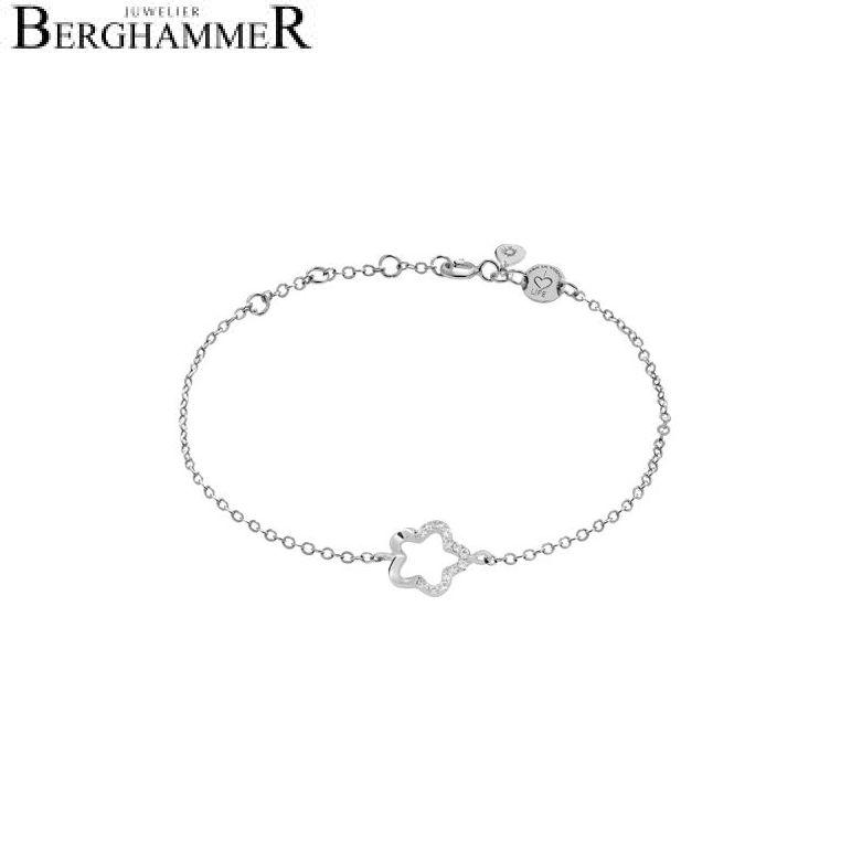 LaViida Armband Floral 925 Silber rhodiniert BLU627RH 40500047