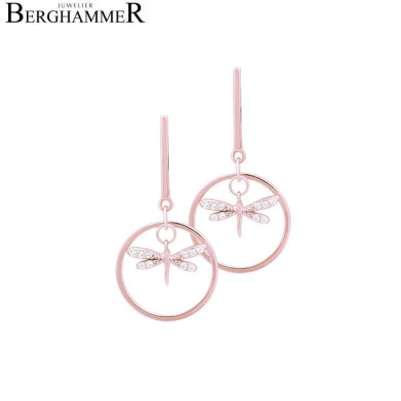 LaViida Ohrschmuck Libelle 925 Silber roségold vergoldet ELU630RG 40500060