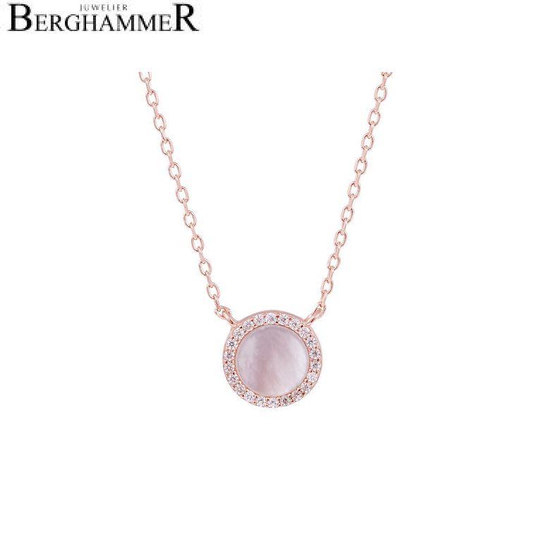 LaViida Halskette Perlmutt 925 Silber roségold vergoldet NLU633RG 40500072