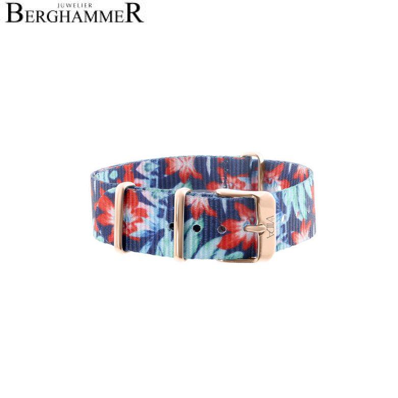 LaViida Uhrband Ibiza Roségold Bunt SIB1704R 40600014