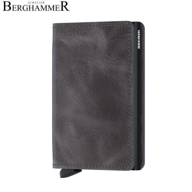 Secrid RFID Slimwallet Vintage Grey-Black