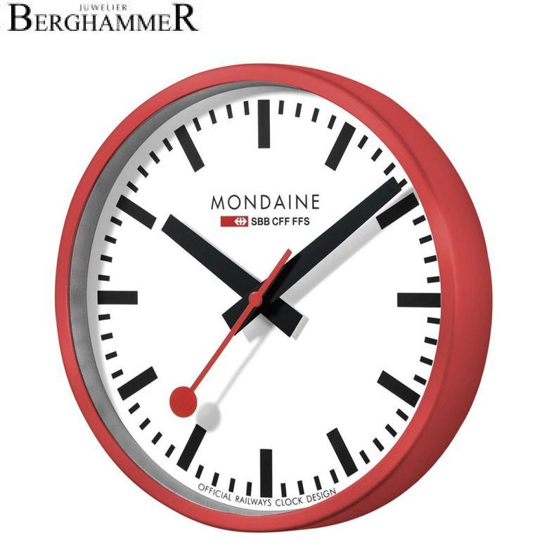 Mondaine Official Swiss Railways Wall Clock A990.CLOCK.11SBC