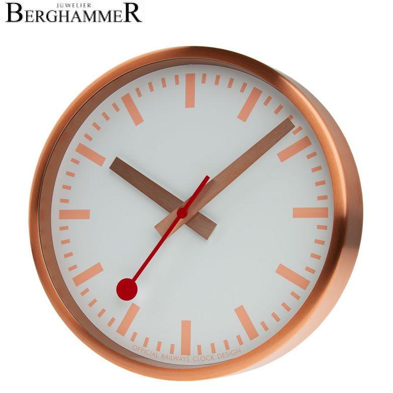 Mondaine Official Swiss Railways Clocks A990.CLOCK.17SBK