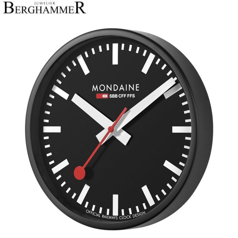 Mondaine Official Swiss Railways Wall Clock A990.CLOCK.64SBB