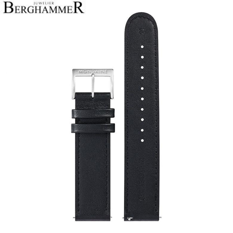 Mondaine Echtleder Armband, 20mm, FEM.25320.20Q.2.K