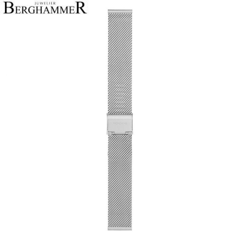 Mondaine Edelstahl Armband, 18mm, FMM.8918.STEM.K