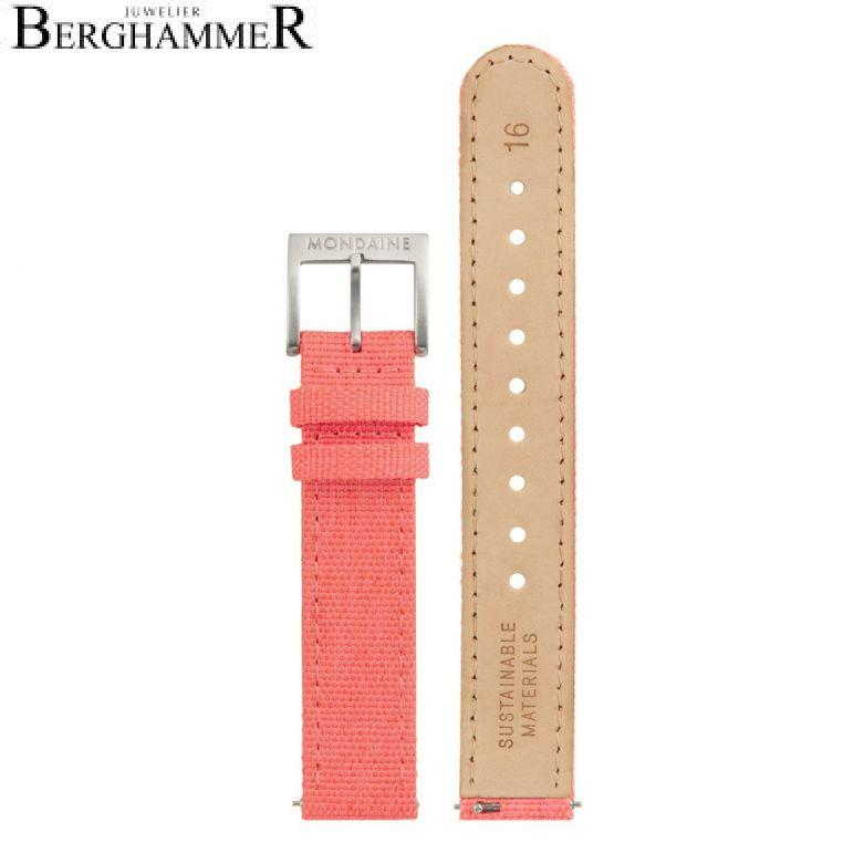 Mondaine Textil Armband, 16mm, FTM.3116.30Q.3.K