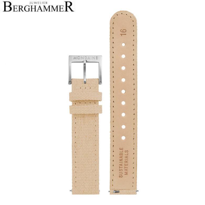 Mondaine Textil Armband, 16mm, FTM.3116.70Q.4.K