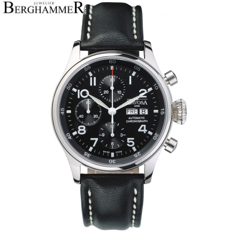 Davosa Pilot Pilot Chronograph 42mm Automatic 161.004.56