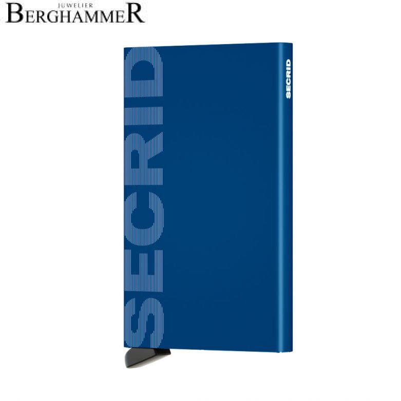 Secrid RFID Cardprotector Laser Logo Blue