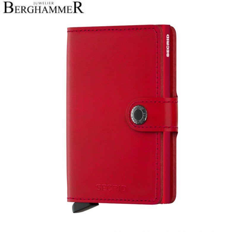 Secrid RFID Miniwallet Original Red-Red
