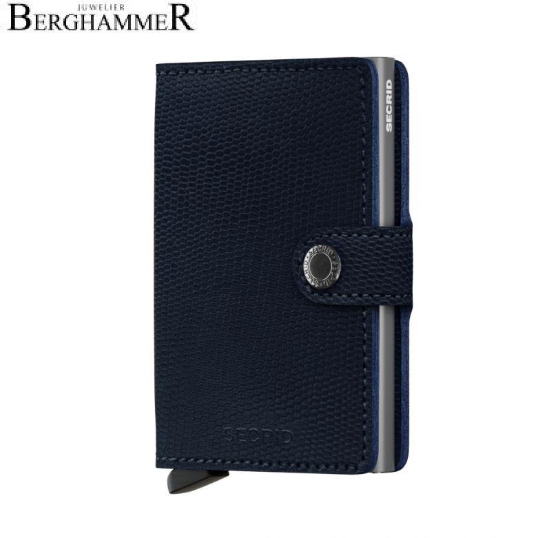 Secrid RFID Miniwallet Rango Blue-Titanium