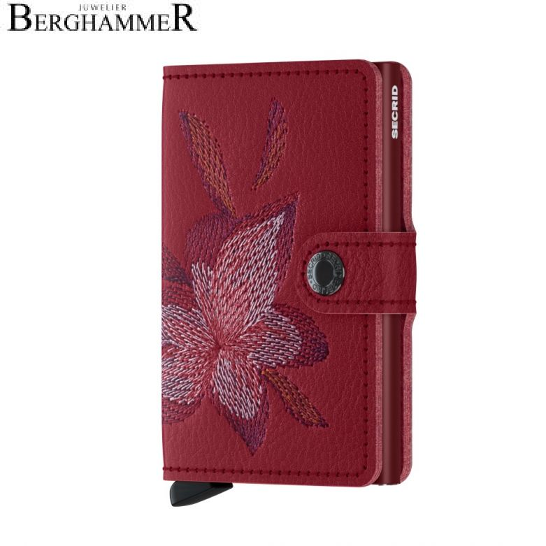 Secrid RFID Miniwallet Stitched Magnolia Rosso