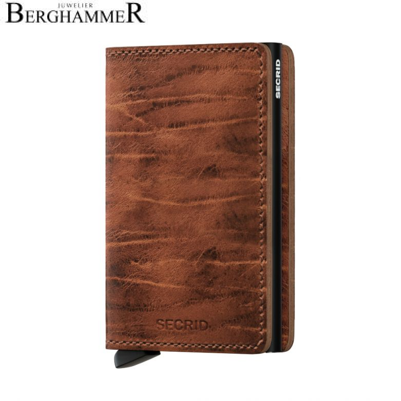 Secrid RFID Slimwallet Dutch Martin Whiskey