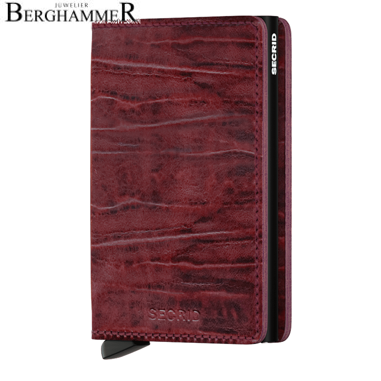 Secrid RFID Slimwallet Dutch Martin Bordeaux