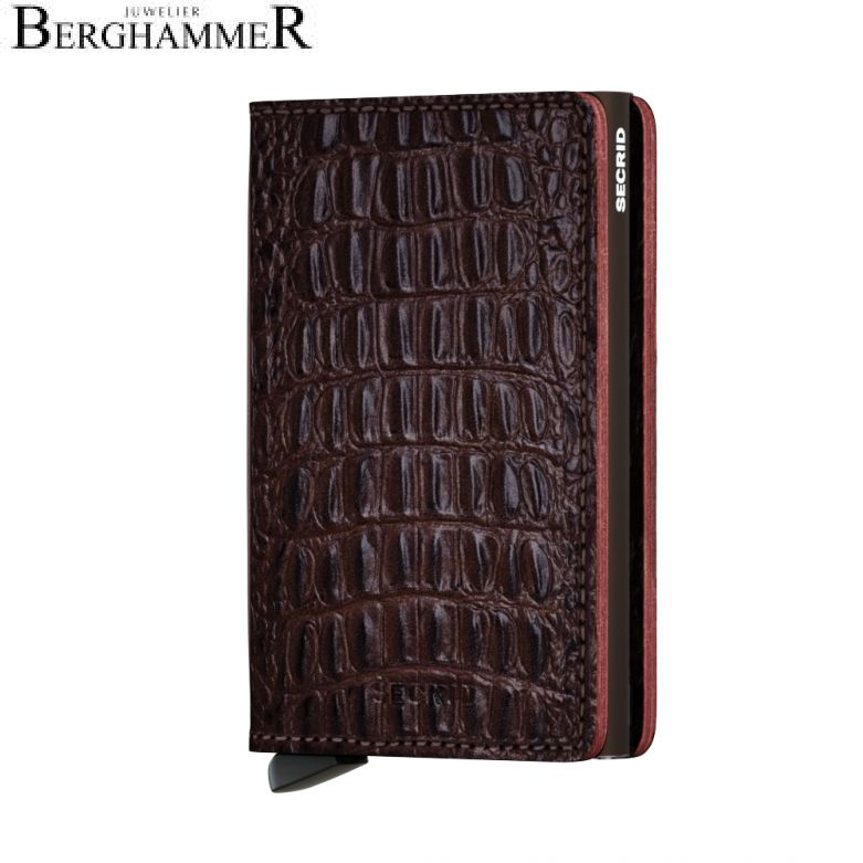 Secrid RFID Slimwallet Nile Brown