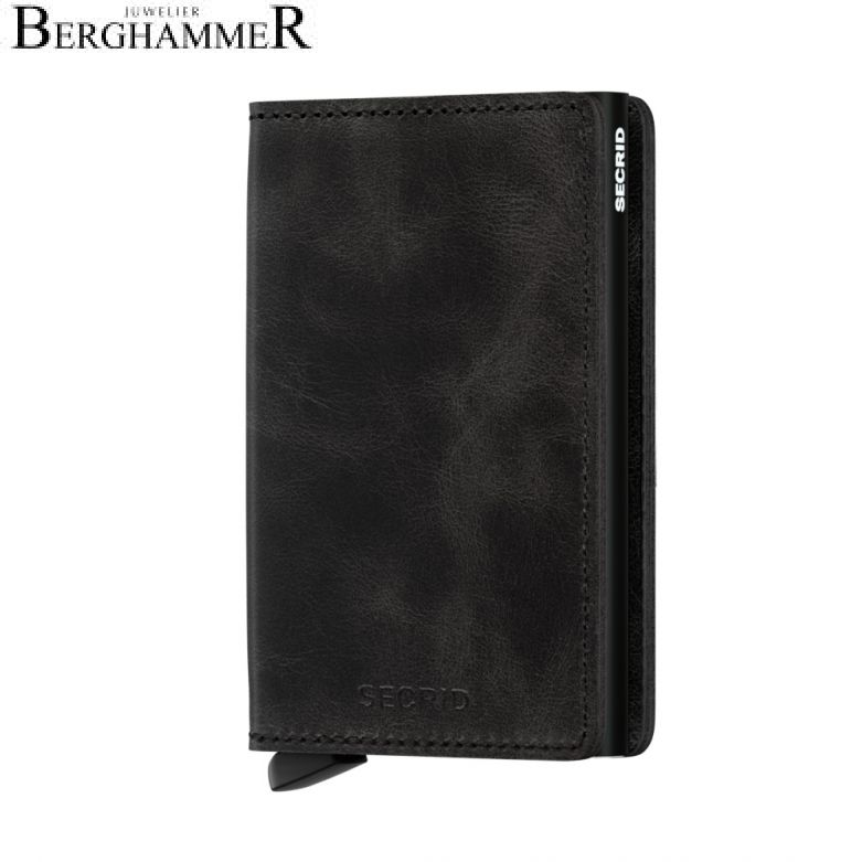 Secrid RFID Slimwallet Vintage Black