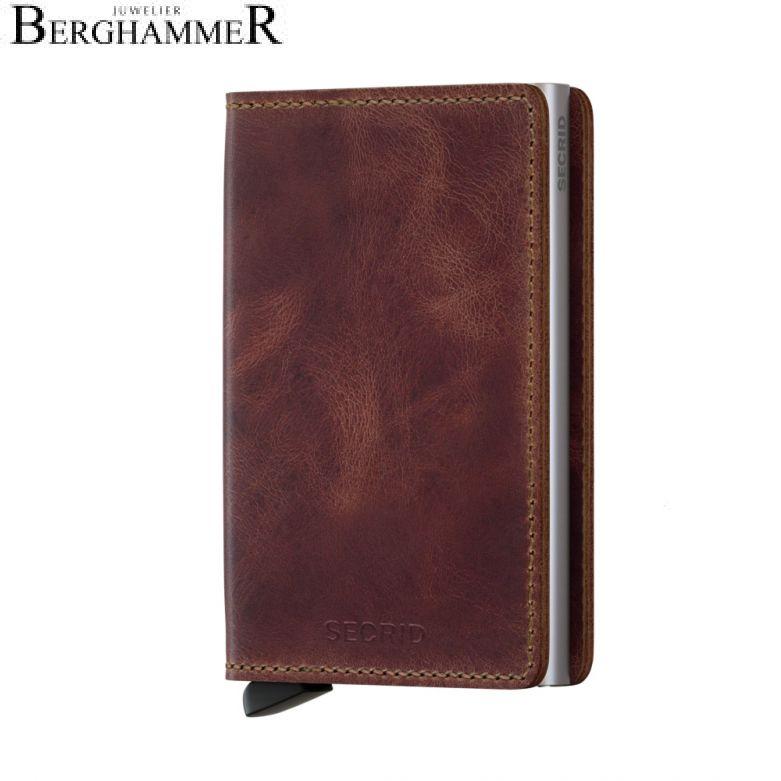 Secrid RFID Slimwallet Vintage Brown