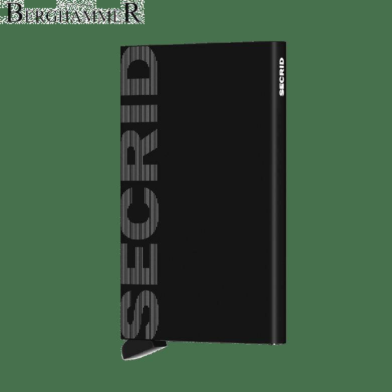 Secrid RFID Cardprotector Laser Logo Black