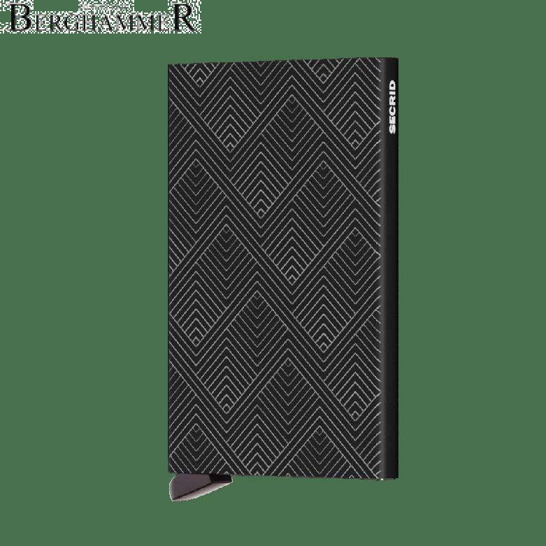 Secrid RFID Cardprotector Laser Structure Black