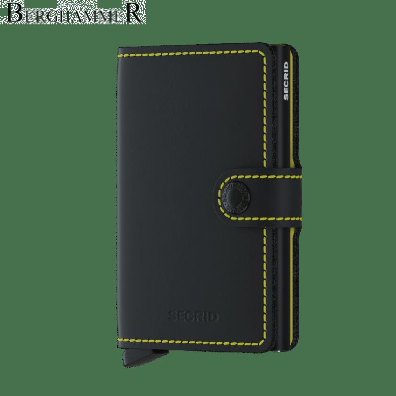 Secrid RFID Miniwallet Matte Black & Yellow