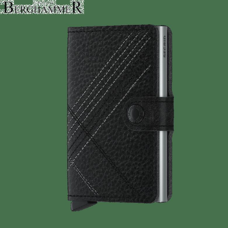 Secrid RFID Miniwallet Stitched Linea Black