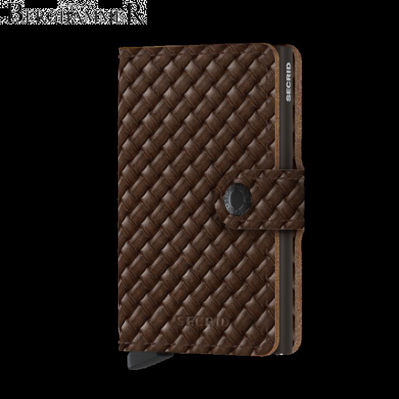 Secrid RFID Miniwallet Basket Brown