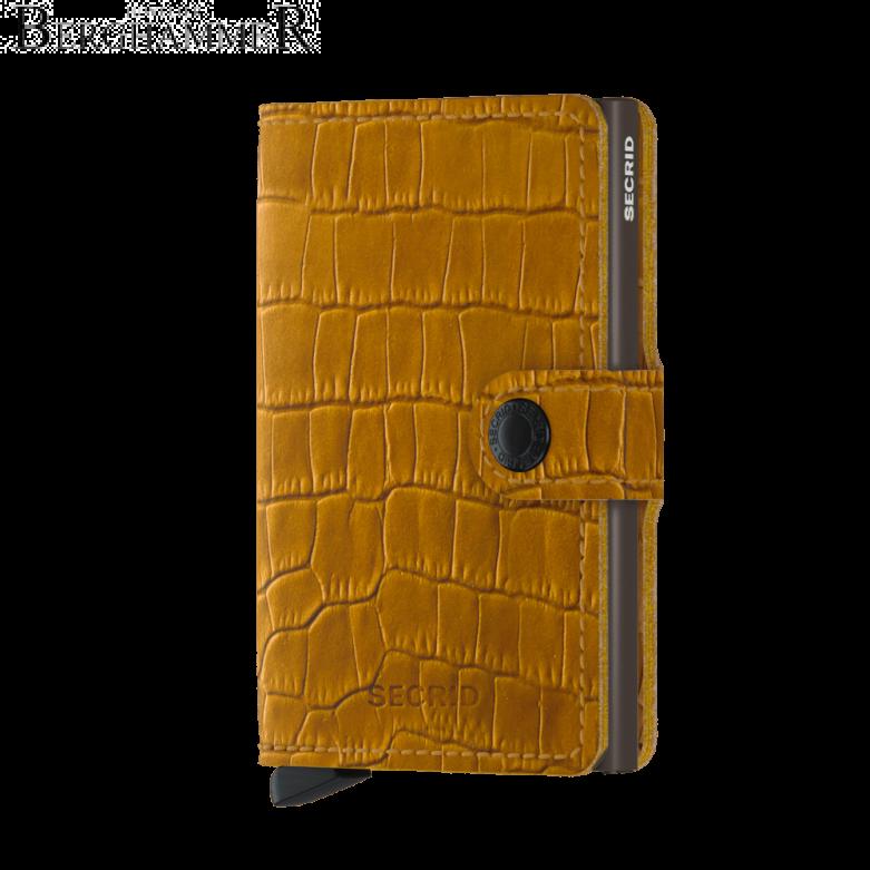 Secrid RFID Miniwallet Cleo Ochre-Brown