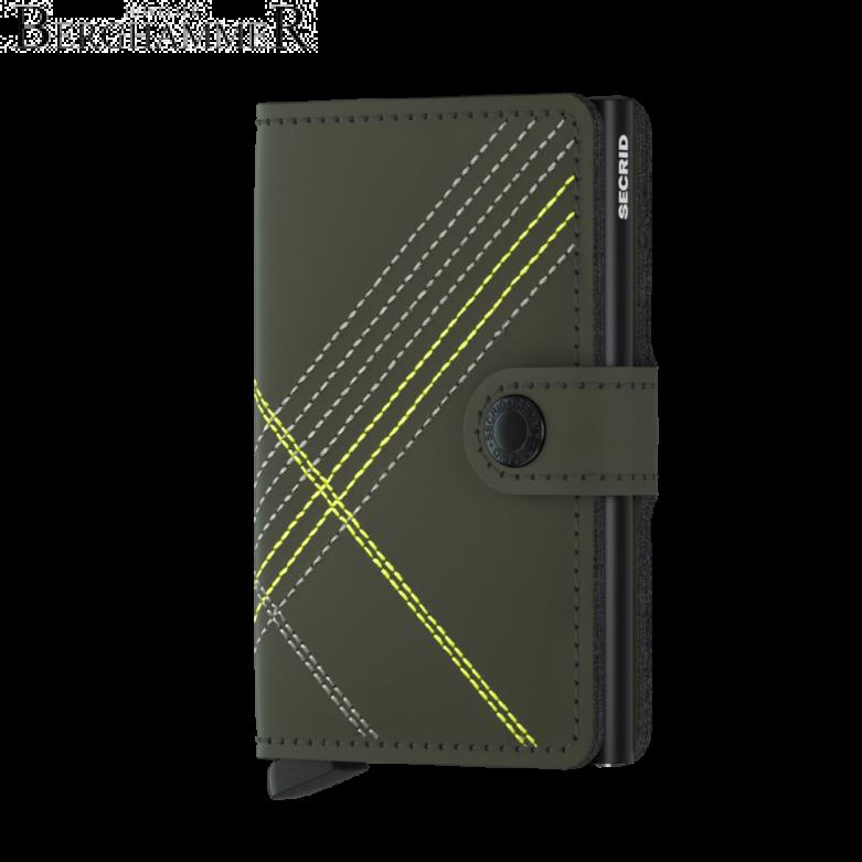 Secrid RFID Miniwallet Stitched Lime