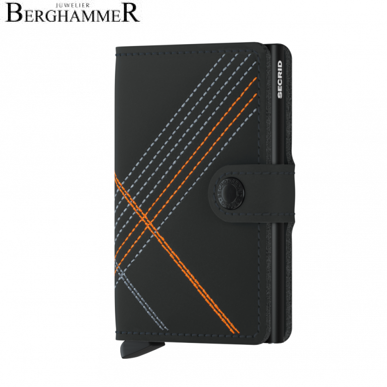 Secrid RFID Miniwallet Stitched Orange