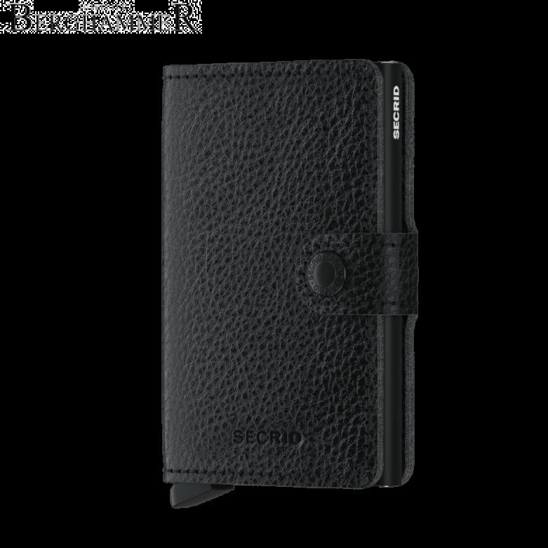 Secrid RFID Miniwallet Vegetable Tanned Black-Black