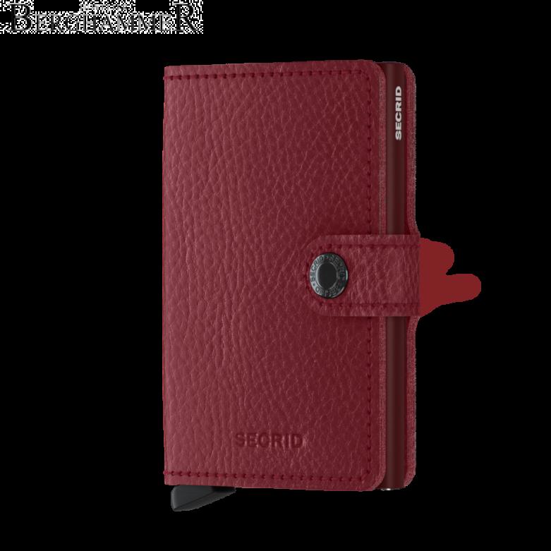 Secrid RFID Miniwallet Vegetable Tanned Rosso-Bordeaux