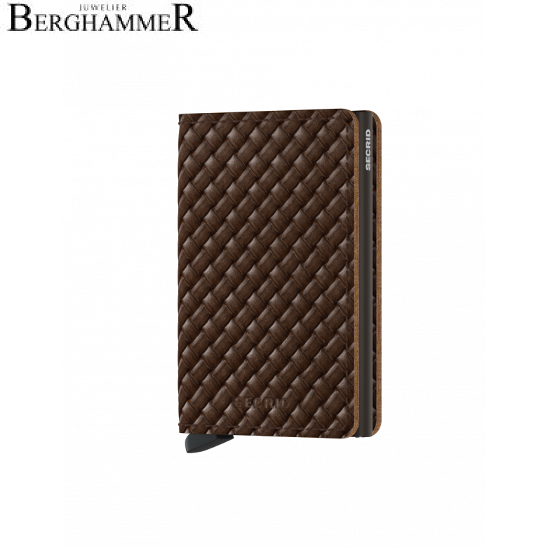 Secrid RFID Slimwallet Basket Brown