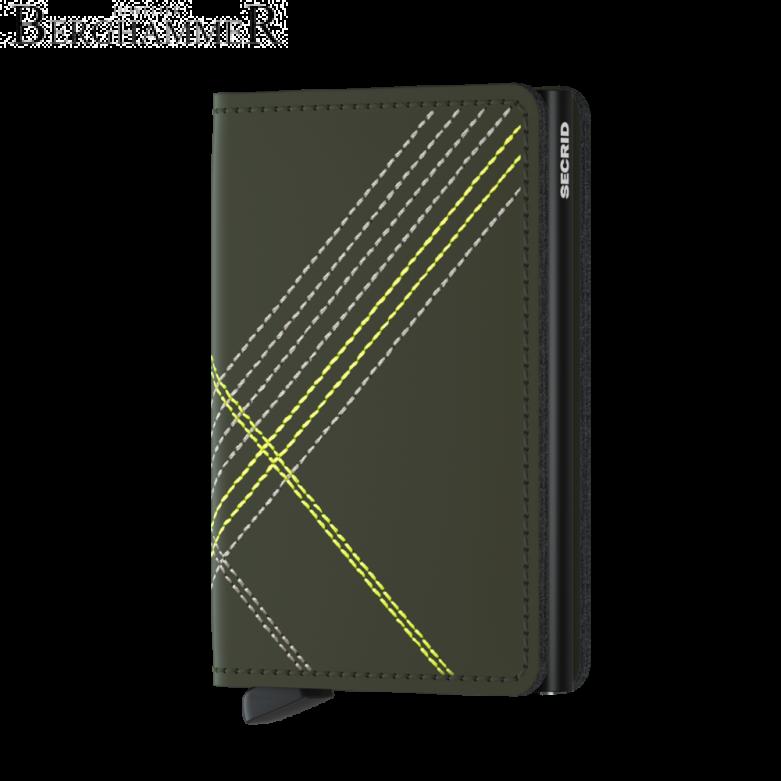 Secrid RFID Slimwallet Stitched Lime