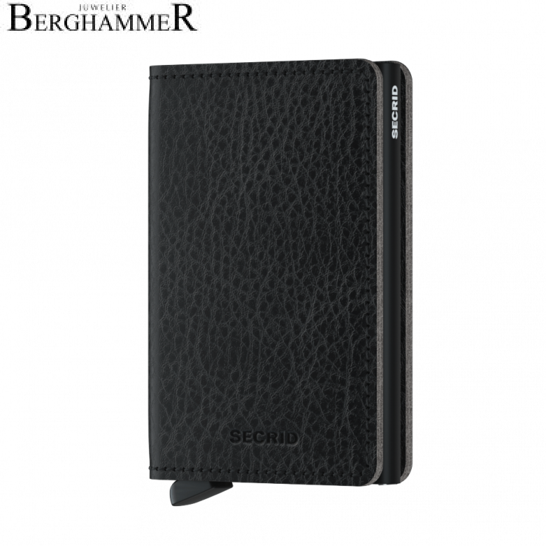 Secrid RFID Slimwallet Vegetable Tanned Black-Black
