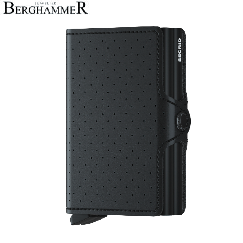 Secrid RFID Twinwallet Perforated Black