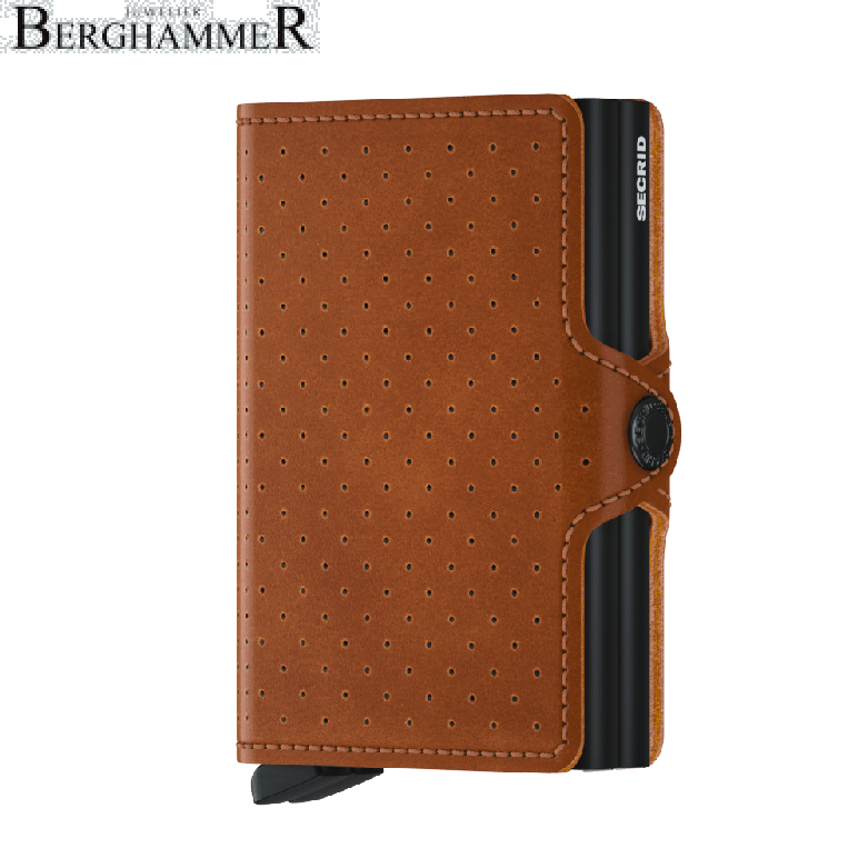 Secrid RFID Twinwallet Perforated Cognac