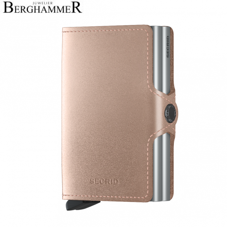 Secrid RFID Twinwallet Metallic Rose