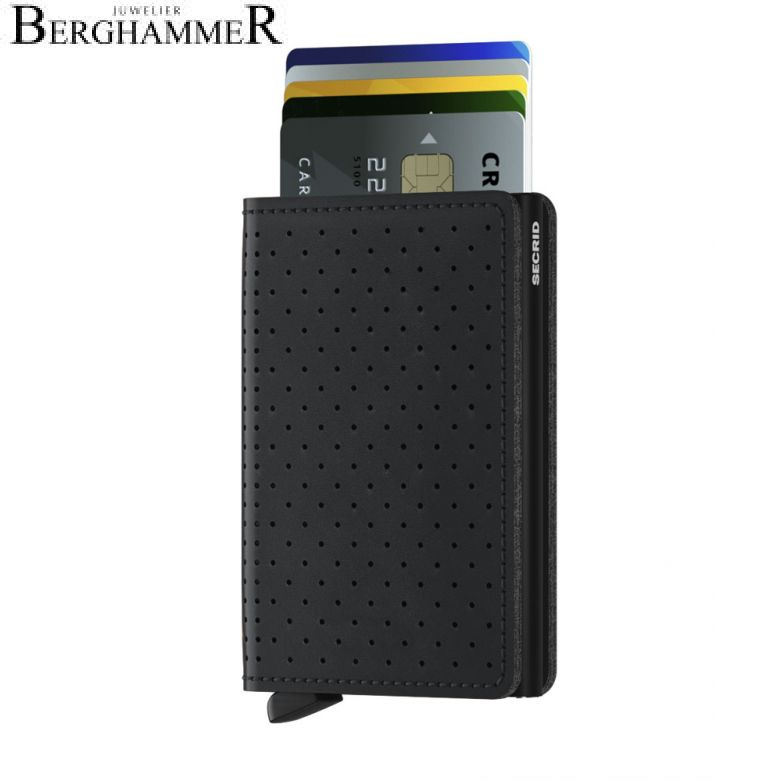 Secrid RFID Slimwallet Perforated Black