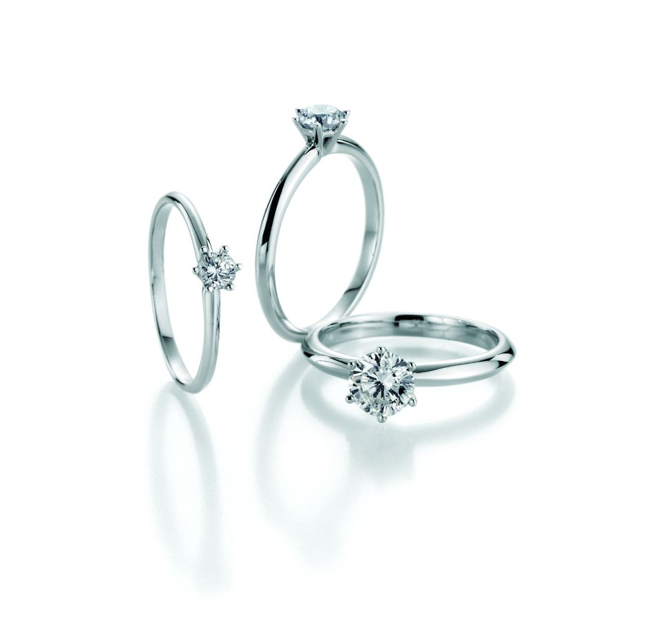 Juwelier Berghammer Fine Juwelry Max Bill Eheringe Verlobungsring